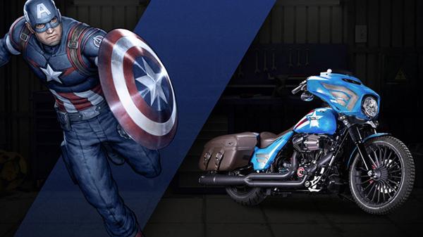Captain-America-Harley