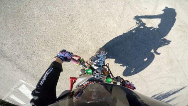 Sarah Lezito test sa nouvelle Kawasaki