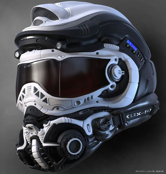 50 casques moto insolites france stunt media. Black Bedroom Furniture Sets. Home Design Ideas