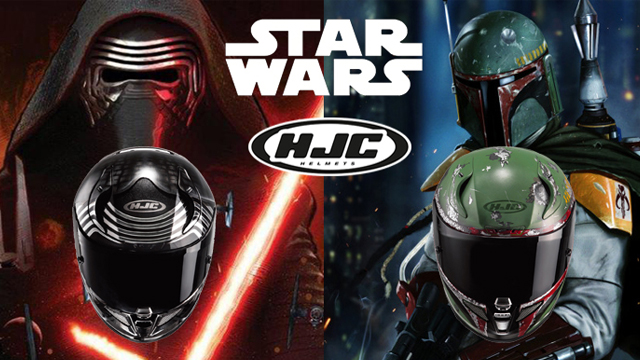 les casques moto hjc star wars arrivent france stunt media. Black Bedroom Furniture Sets. Home Design Ideas