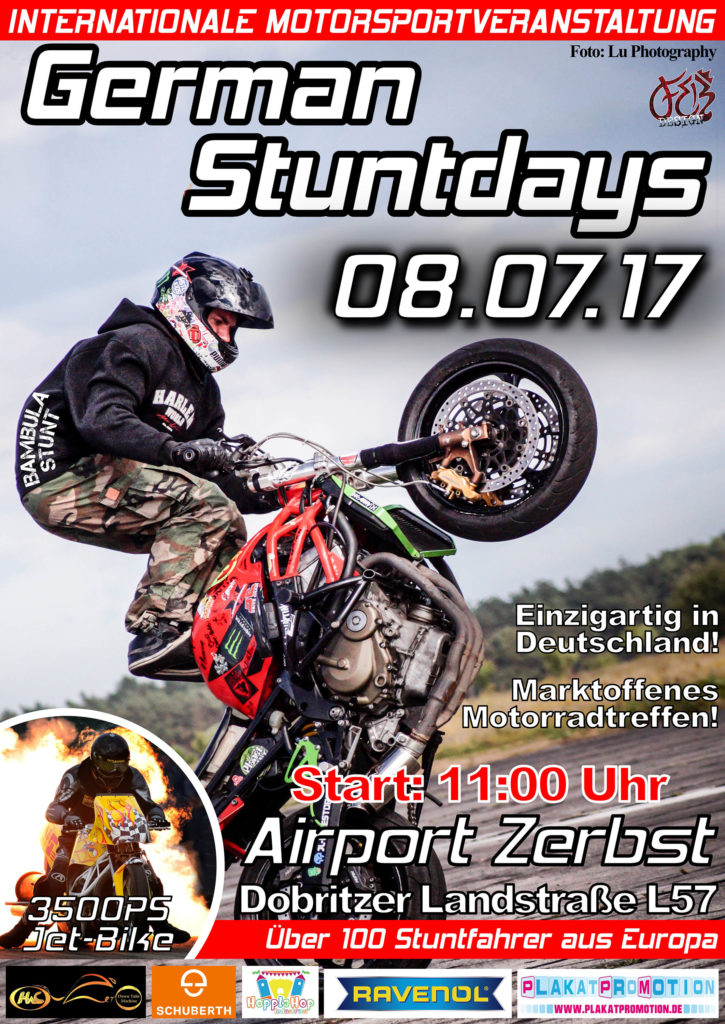 GERMAN STUNT DAY 2017
