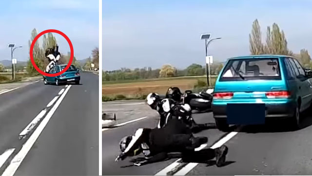 accident moto autriche
