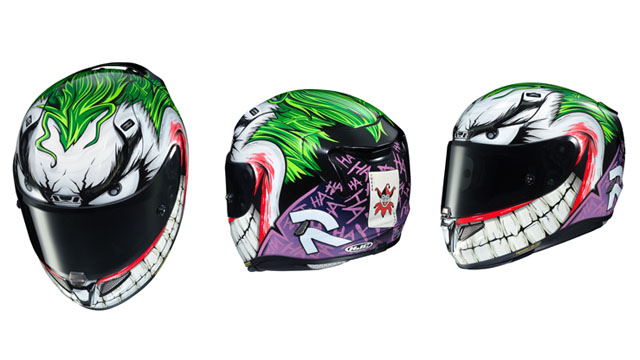 Joker helmet
